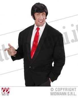 Cravatta ROSSA in raso