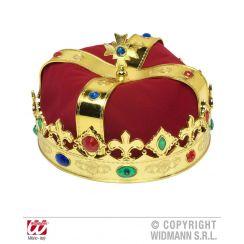 Corona reale con gemme