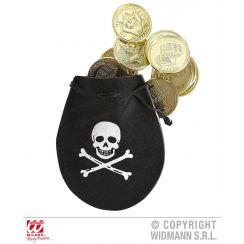 Saccoccia pirata con 12 dobloni