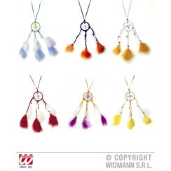 Collana DREAMCATCHER con piume