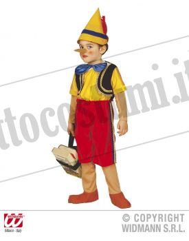 Costume BURATTINO di legno