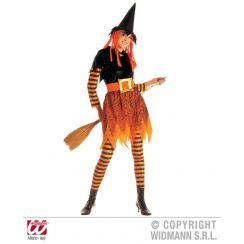 Costume da strega FUNKY WITCH