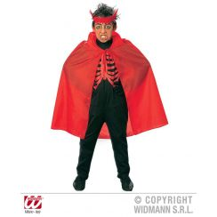 Mantello rosso 90 cm (bambino)