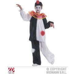 Costume PIERROT rouge bambino