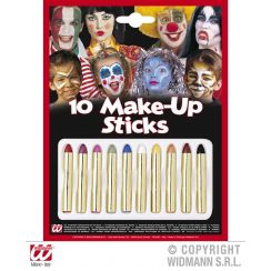 Set make-up 10 MATITE colorate
