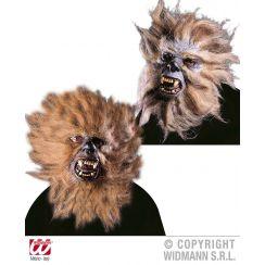 Maschera mezzoviso UOMO SCIMMIA con capelli