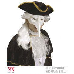 Maschera VENEZIANA bianca da dipingere