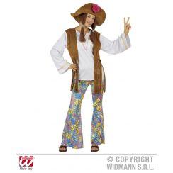 Costume DONNA HIPPIE WOODSTOCK