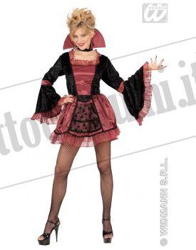 WIDMANN Anni 70 Costume da Vamp in Taglia S
