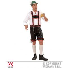 Costume LEDERHOSEN similpelle XL