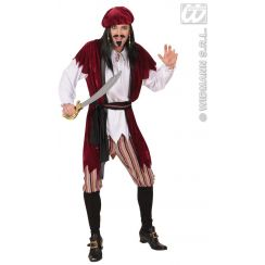 Costume pirata dei caraibi (lusso)