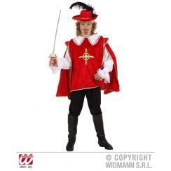 Costume MOSCHETTIERE rosso