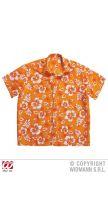 Camicia HAWAIANA arancione