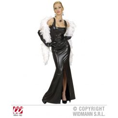 Costume COCKTAIL elasticizzato nero