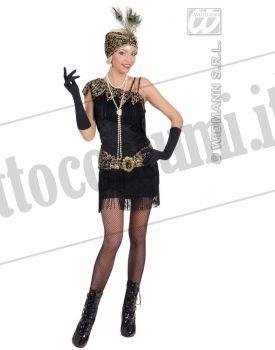 Costume CHARLESTON ANNI 20 nero XL 3745d9c2a22