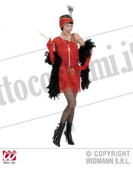 Costume CHARLESTON ANNI 20 rosso