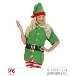 Costume unisex ELFO aiutante di Babbo Natale