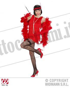 Costume CHARLESTON lusso rosso