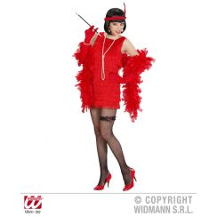 Costume CHARLESTON lusso rosso XL