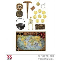 Set accessori completo pirata
