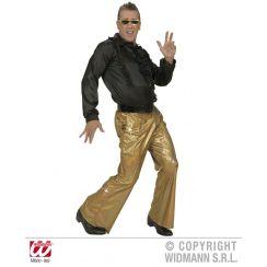 Pantaloni in tessuto OLOGRAFICO ORO XL