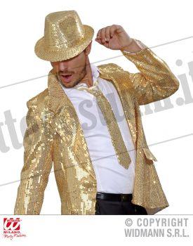 Cravatta in PAILLETTES ORO
