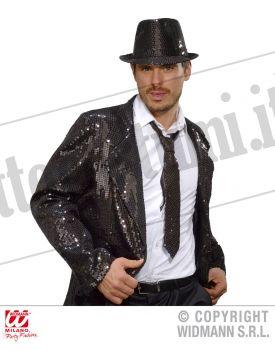 Cravatta in PAILLETTES NERA