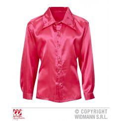 Camicia DISCO ANNI 70 rosa