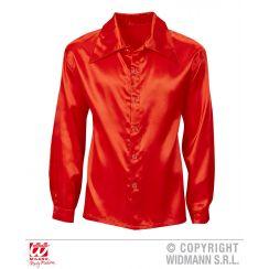 Camicia DISCO ANNI 70 rossa XL