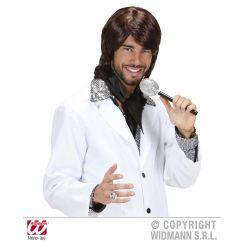 Parrucca anni 70 POP STAR BENNY