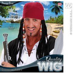 Bandana pirata dei caraibi con Dreadlocks