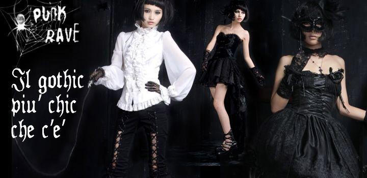 Abbigliamento Gothic Chic