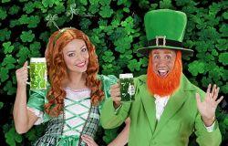 Costumi Festa irlandese San Patrizio 407ff1324e2