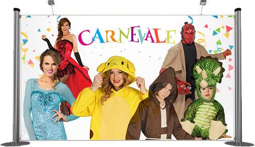 Costumi e accessori Carnevale 2017