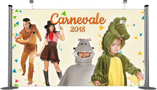 Costumi e accessori Carnevale 2018