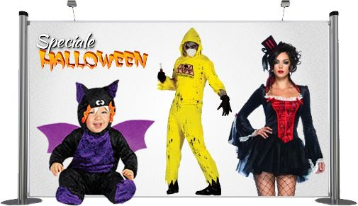 Costumi e accessori per Halloween 2014