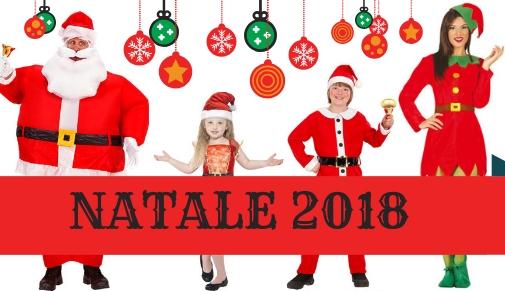 Costumi e accessori Natale 2018
